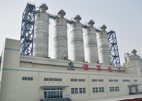 山东信发化工有限公司聚乙烯项目设备安装