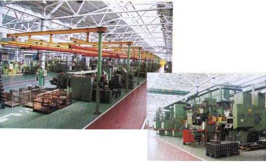 山东潍坊拖拉机厂生产线安装工程