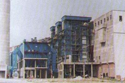 山东雪花集团35t锅炉安装工程