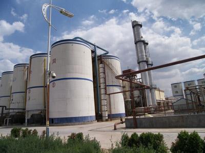 山东同兴生物科技有限公司厌氧罐安装工程