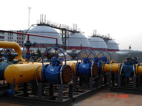 湘衡天然氣管線衡陽站安裝工程